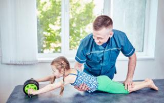 Gimnastyka korekcyjna dla dzieci - zajęcia indywidualne